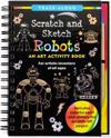 Scratch & Sketch Trace-Along Robots: An Art Activity Book for Artistic Inventors of All Ages