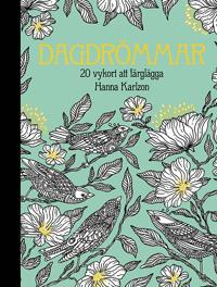 Dagdrömmar - 20 vykort att färglägga