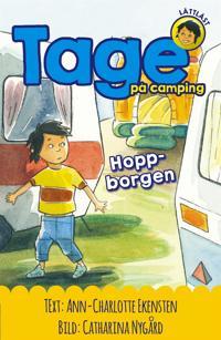 Tage på camping : Hoppborgen