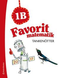 Favorit matematik Tankenötter 1B, 5-pack