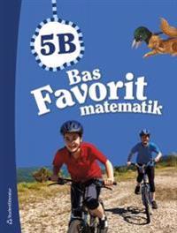 Bas Favorit matematik 5B Elevpaket (Bok + digital produkt)