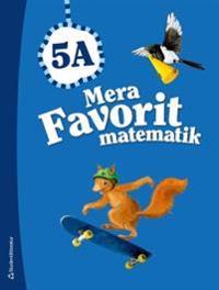 Mera Favorit matematik 5A - Elevpaket (Bok + digital produkt)