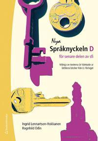 Nya Språknyckeln D - Elevpaket (Bok + digital produkt) - för senare delen av SFI
