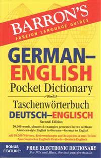 Barron's German-English Pocket Dictionary / Taschenworterbuch Beutsch-Englisch