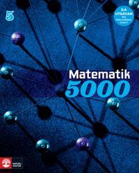 Matematik 5000 Kurs 5 Blå Lärobok, 2:a uppl