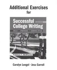 Additional Exercises for Successful College Writing