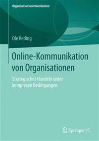 Online-kommunikation Von Organisationen
