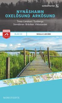 Outdoorkartan Nynäshamn Oxelösund Arkösund : Blad 22 skala 1:50000