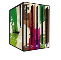 Moderna utländska klassiker (box) De besatta ; Glaskupan ; Hundra år av ensamhet ; Moment 22 ; Älskaren