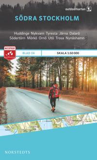 Outdoorkartan Södra Stockholm : Blad 24 skala 1:50000