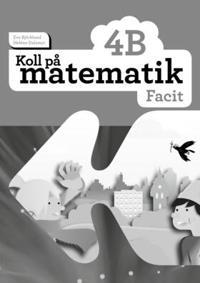 Koll på matematik 4B Facit (5-pack)