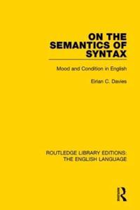 On the Semantics of Syntax