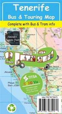 Tenerife Bus & Touring Map