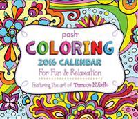 Posh Coloring Day-To-Day Calendar: For Fun & Relaxation