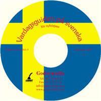 Vardagsguiden på svenska för nybörjare Mp3 CD-skiva