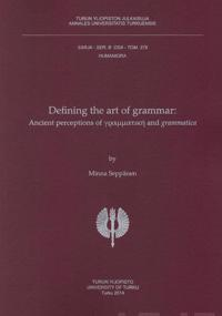 Defining the Art of Grammar