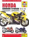 Haynes Honda CBR900RR Fireblade '00 to '03 Service and Repair Manual
