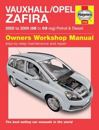 Vauxhall / Opel Zafira Service and Repair Manual