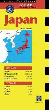 Periplus Travel Maps Japan Country Map