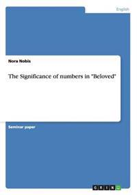 The Significance of Numbers in Beloved