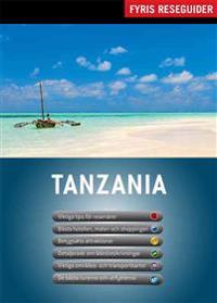 Tanzania med karta