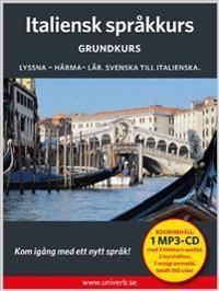 Italiensk språkkurs. Grundkurs