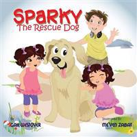 Sparky the Rescue Dog