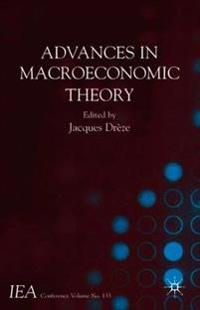 Advances in Macroeconomic Theory