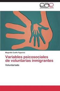 Variables Psicosociales de Voluntarias Inmigrantes