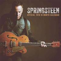 Bruce Springsteen Square 12x12 Live Nation Calendar