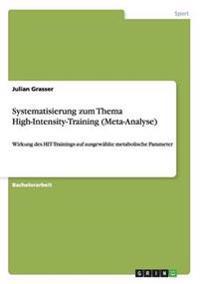 Systematisierung Zum Thema High-Intensity-Training (Meta-Analyse)