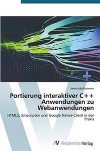 Portierung Interaktiver C++ Anwendungen Zu Webanwendungen