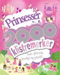Prinsesser. 2000 klistremerker