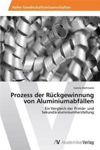 Prozess Der Ruckgewinnung Von Aluminiumabfallen