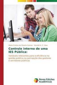 Controle Interno de Uma Ies Publica