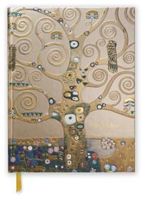 Gustav Klimt Tree of Life Blank Sketch Book