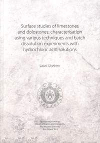 Surface studies of limestones and dolostones
