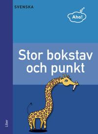 Aha Svenska-Stor bokstav och punkt