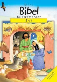 Jul; klistremerkebok med fortellinger fra Bibelen