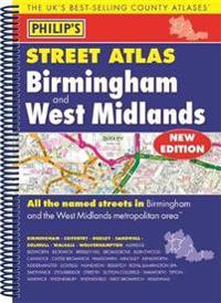Philip's Street Atlas Birmingham and West Midlands