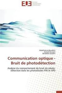 Communication Optique - Bruit de Photodetection