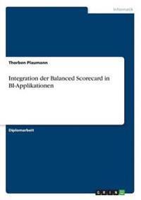 Integration Der Balanced Scorecard in Bi-Applikationen