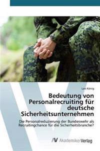 Bedeutung Von Personalrecruiting Fur Deutsche Sicherheitsunternehmen