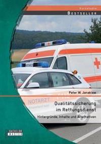 Qualitatssicherung Im Rettungsdienst