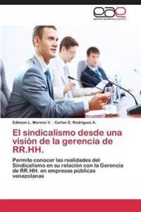 El Sindicalismo Desde Una Vision de la Gerencia de RR.Hh.