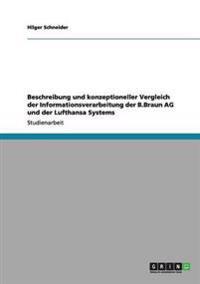 Beschreibung Und Konzeptioneller Vergleich Der Informationsverarbeitung Der B.Braun AG Und Der Lufthansa Systems