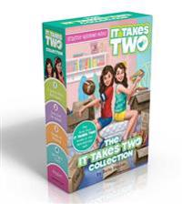 The It Takes Two Collection: A Whole New Ball Game; Two Cool for School; Double or Nothing; Go! Fight! Twin! [With Stretchy Headband]