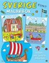 Sverige runt : målarbok