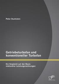 Getriebeturbofan Und Konventioneller Turbofan