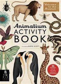 Animalium Activity Book